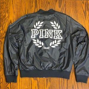 VS PINK Black Coat Size Small